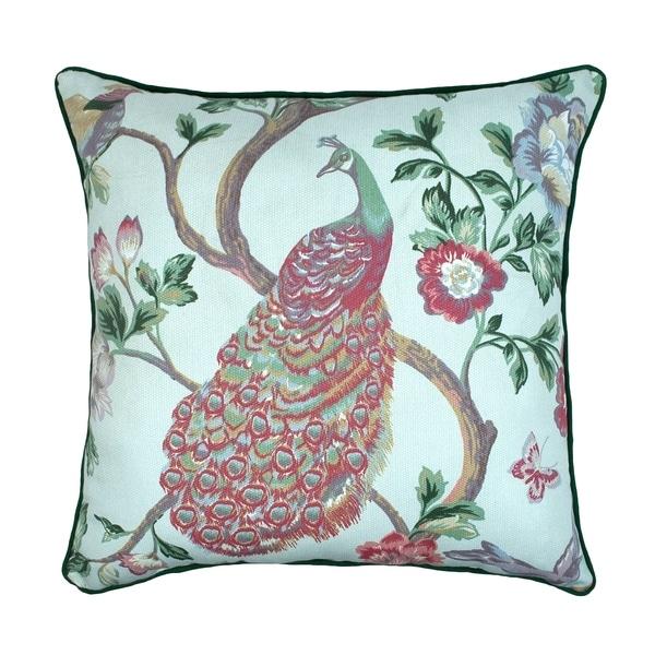 Sherry Kline Pavo Real 20-inch Decorative Throw Pillow