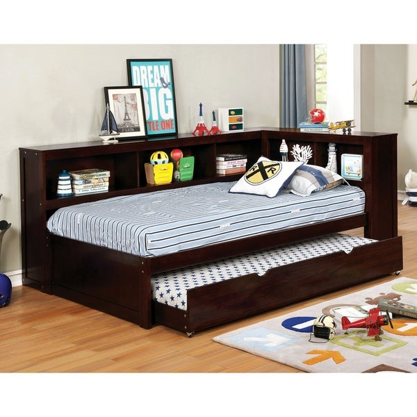 Copper Grove Lozova Full-size Wood Bookshelf Daybed with Twin Trundle