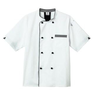5 Star Short Sleeve Unisex Executive Chef Coat