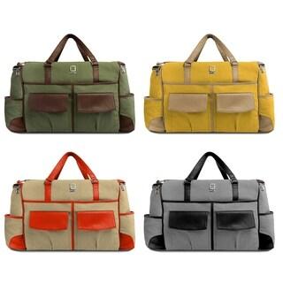 Lencca ALPAQUE Duffel Laptop Carry On Bag