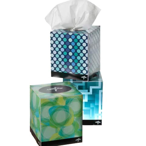 Medline Premium 2-ply Facial Tissue Box (Case of 36)