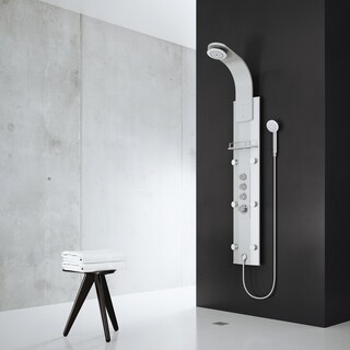 VIGO Elena Shower Massage Panel with Rain Shower Head