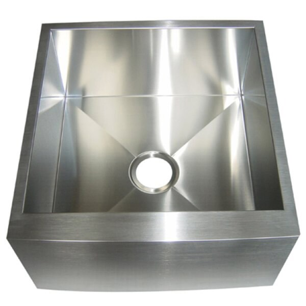 Kingston Br Farmhouse 21 Inch Stainless Steel Undermount A Front Kitchen Sink Silver Free Shipping Today 2539954
