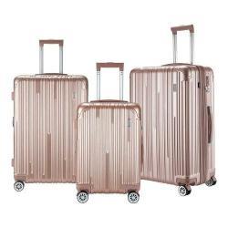 TPRC Nurmi 3 Piece Carry-On Luggage Set Rose Gold