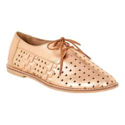 Women's EMU Lavinia Perf Oxford Rose Gold Leather