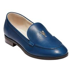 Women's Cole Haan G.Os Pinch Lobster Loafer Navy Peony Leather