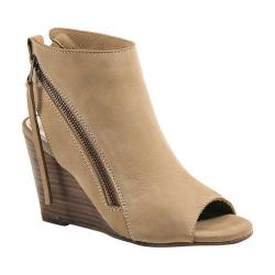 Women's Diba True In Between Open Toe Bootie Natural Leather