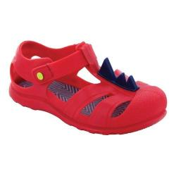 Boys' Western Chief Playground Sandal Red Spike PVC