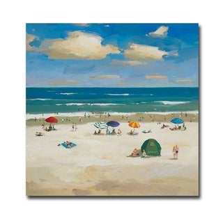 Oceanside 1 by Gaston Gallery Wrapped Canvas Giclee Art (30 in x 30 in, Ready to Hang)