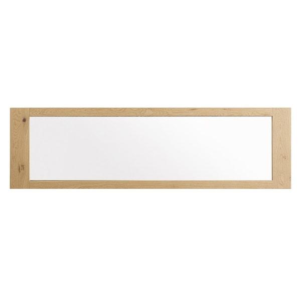 Aaron French Oak Wall Mirror