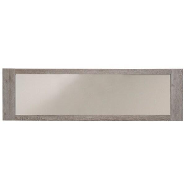 Bristol Gray French Oak Wall Mirror