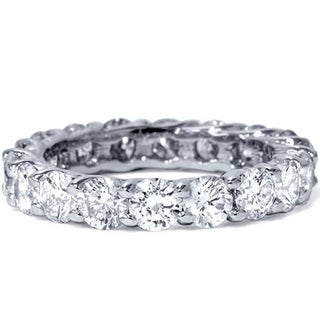 Link to Pompeii3 Platinum 3 ct TDW Diamond Eternity Ring Similar Items in Wedding Rings