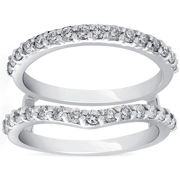 Shop Pompeii3 14k White Gold 1 5/8 Ct TDW Diamond Guard