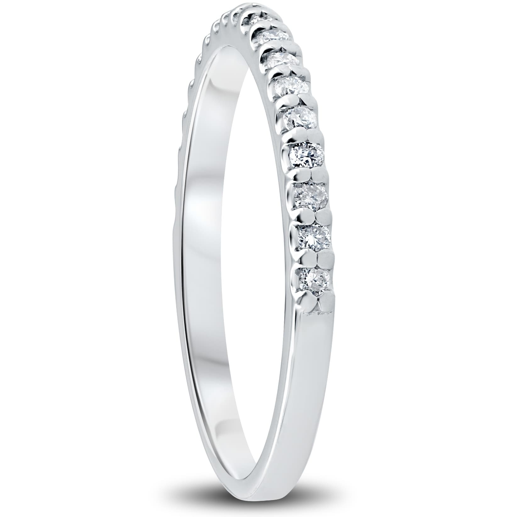 Details about  /10k White Gold Over 3Ct Round-Cut D//VVS1 Diamond Halo Bridal Engagement Ring