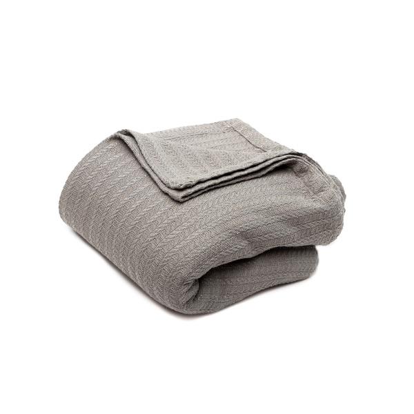 Layla Metallic Cotton Blanket