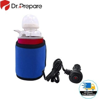 Car Electric Warmer Cup Sleeve Portable Baby Bottle Warmer Water, Milk, Coffee