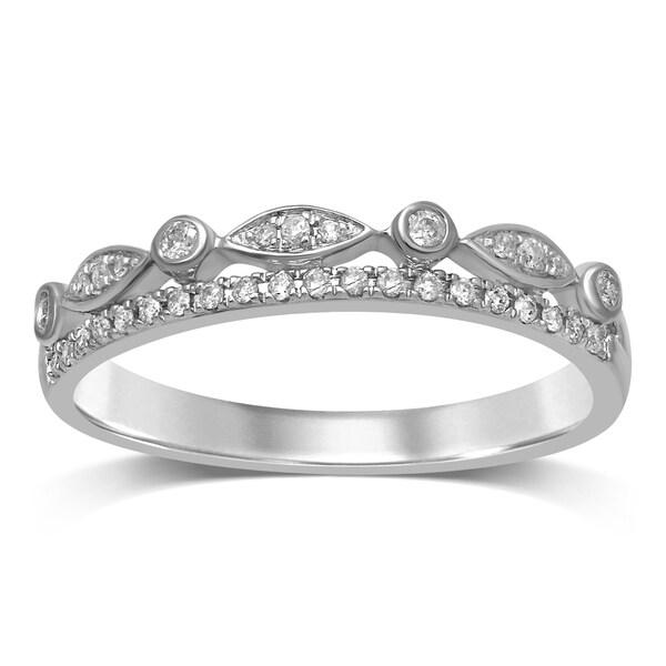 Shop Unending Love 10K Gold 1/6 Cttw Diamond Crown