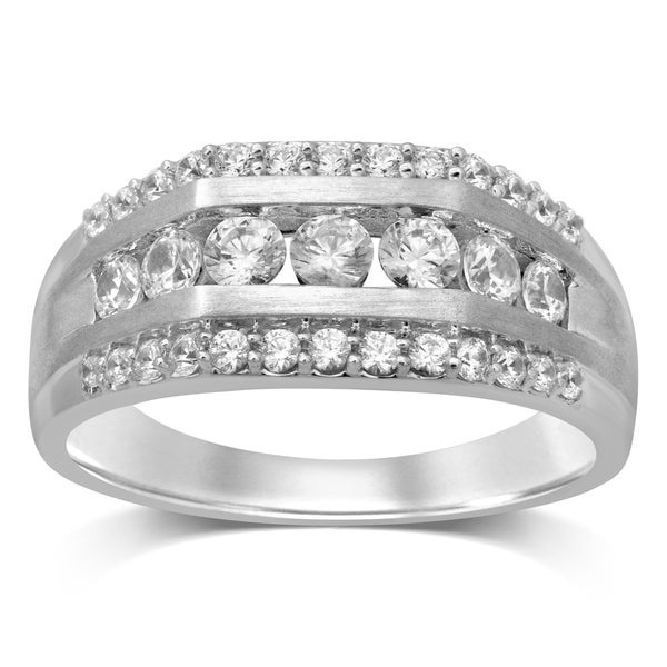 Shop Unending Love 10K White Gold 1 1/4 Cttw White Diamond