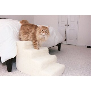 PetStairz Brown 4-step Pet Steps