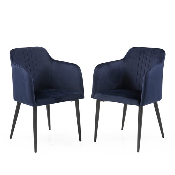 Shop Mid Century Jason Dining Room Accent Chair Set of 2 ...