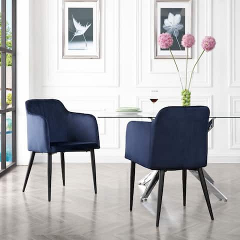Mid Century Jason Dining Room Accent Chair Set of 2