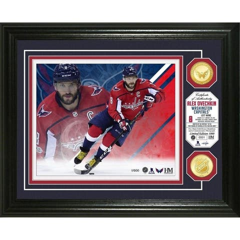 Alex Ovechkin Bronze Coin Photo Mint