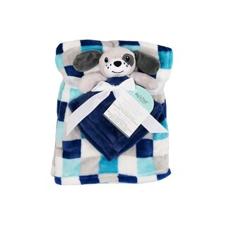 Baby's First--2 Piece Set Blanket & Buddy Set (Boy) Dog