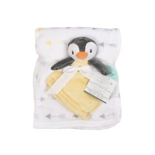 Baby's First--2 Piece Set Blanket & Buddy Set (Neutral) Penguin