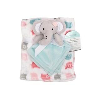 Baby's First--2 Piece Set Blanket & Buddy Set (Girl) Elephant