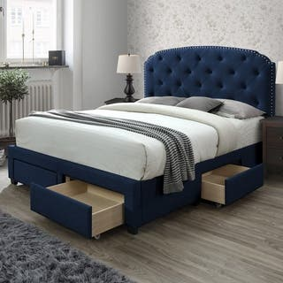 Buy Queen Size Blue Beds Online at Overstock | Our Best ...