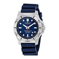 Victorinox I.N.O.X. Blue Dial Rubber-Silicone Strap Men's Watch 241734