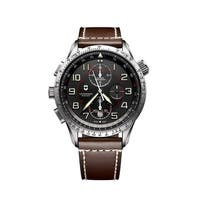 Victorinox Airboss Black Dial Chronograph Automatic Men's Watch 241710