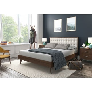 Link to Hughes Queen Mid-Century Platform Bed Similar Items in Bedroom Furniture