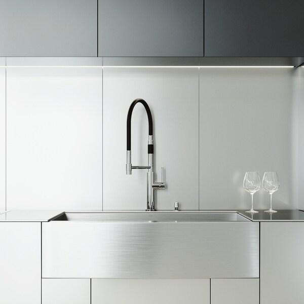 VIGO Camden Stainless Steel Kitchen Sink Set with Norwood Faucet