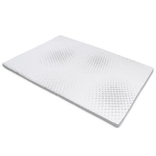 Milliard 2-Inch Gel Memory Foam Mattress Topper with Washable Removable Soft Bamboo Cover