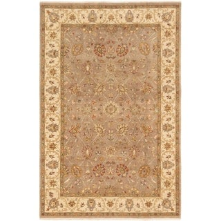 ECARPETGALLERY  Hand-knotted Chobi Twisted Brown Wool Rug - 6'5 x 9'10