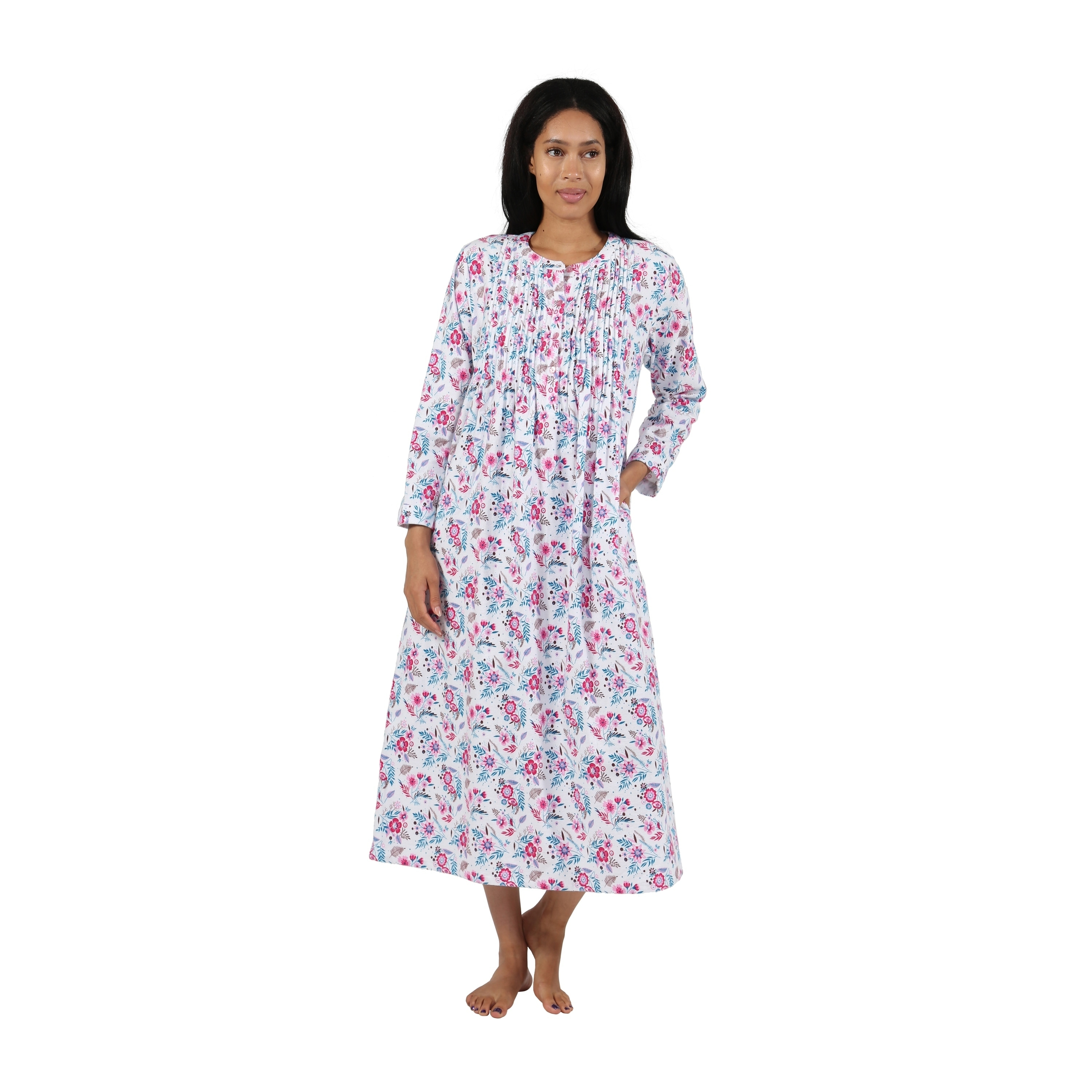 888a68545115e5 Long Sleeve Silk Sleep Shirt – EDGE Engineering and Consulting Limited