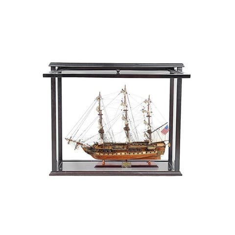 USS Constitution Mid With Display Case Front Open