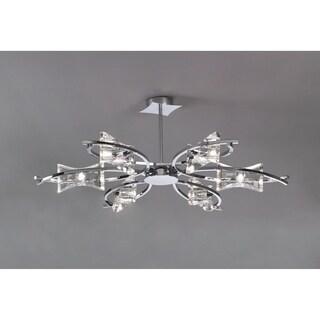 Mantra Lighting KROM CROMO 0885 Chrome Metal Semi-flush Light Fixture