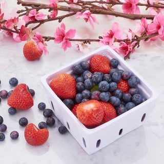 """Link to White Berry Basket, 2.75"""" H. Similar Items in Serveware"""