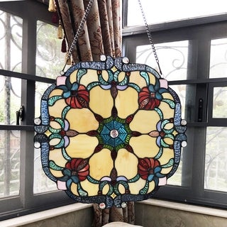 Tiffany Style Window Panel/Suncatcher