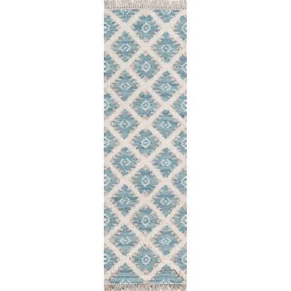 """Momeni Harper Hand Woven Wool Area Rug - 2'3"""" x 7'10"""" Runner"""