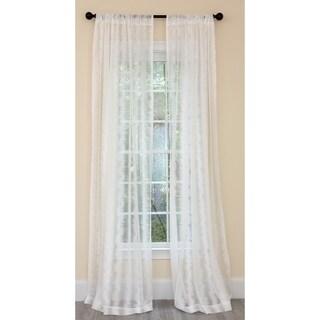Manor Luxe Bella Bella Sheer Single Curtain Panel