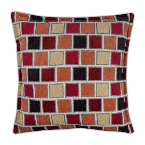 Sherry Kline Stonewall Red 20-inch Decorative Throw Pillow