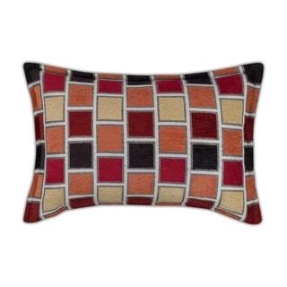 Sherry Kline Stonewall Red Boudoir Decorative Pillow