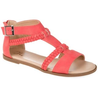 4c770d5b6b77 Buy Size 7 Pink Women s Sandals Online at Overstock