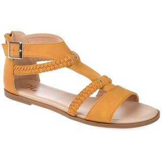4f96f8a941b4a6 Buy Yellow Women s Sandals Online at Overstock