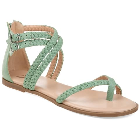 8a514ed0c Journee Collection Women s Comfort Imogen Faux Leather Sandal