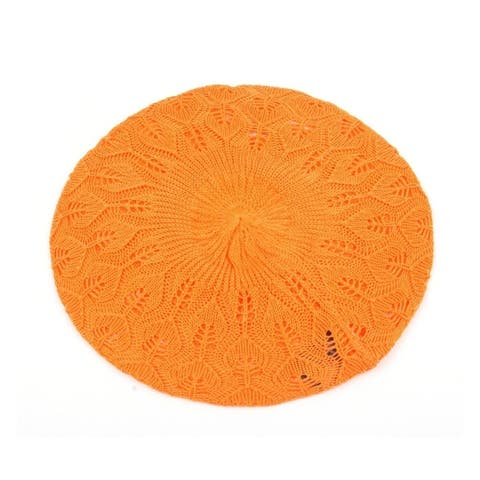 Women's Light Beret Knitted Style (137HB)