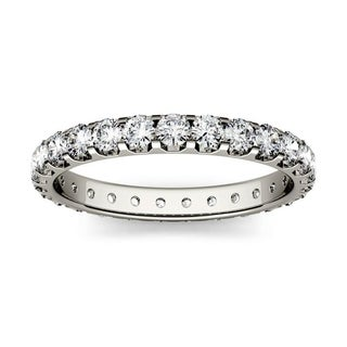 Moissanite by Charles & Colvard 14k Gold 1.0 DEW Eternity Band
